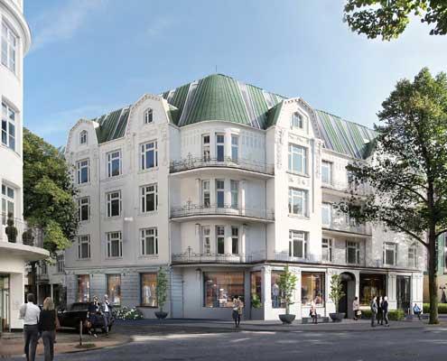 Marke entwickeln für ein Immobilienprojekt_Frontansicht