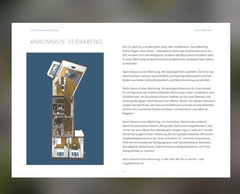 Marke entwickeln für ein Immobilienprojekt_Broschüre