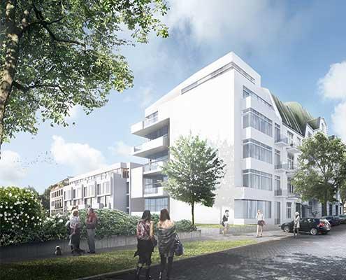 Marke entwickeln für ein Immobilienprojekt_Rückansicht
