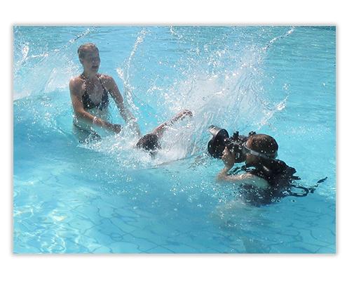 Neue Kunden gewinnen_Imagekampagne Urlaubsrituale_Shooting