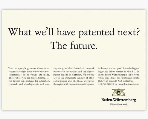 Anzeigenmotiv Future
